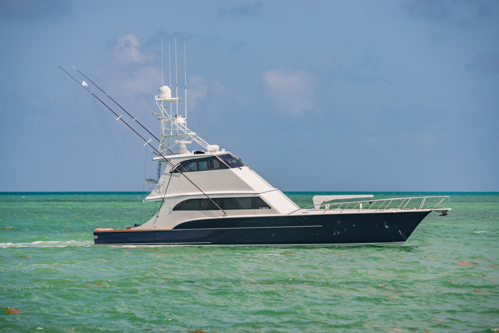 "2001 Buddy Davis 61' 61 Sportfish Enclosed Pilothouse ""Don Don """