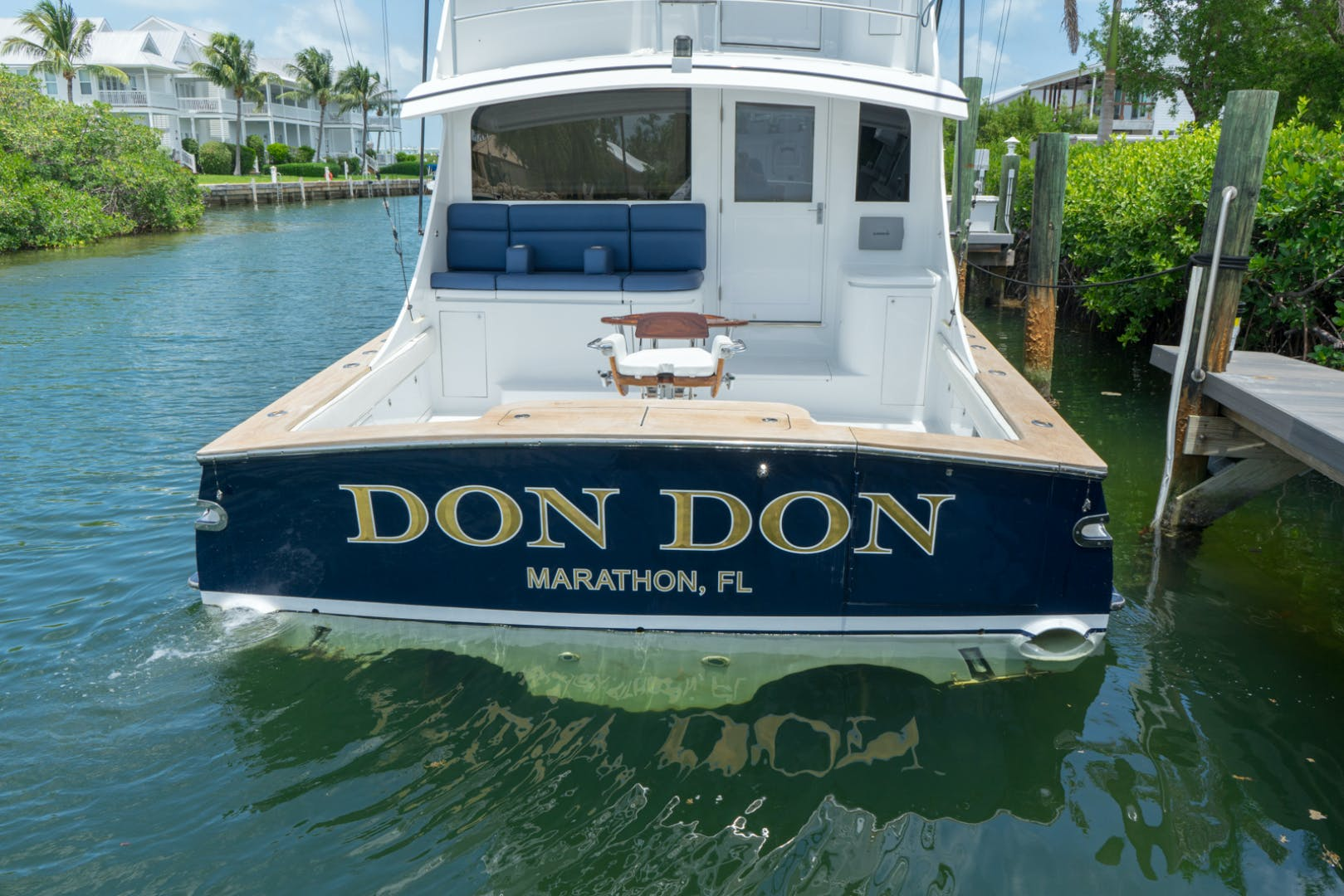2001 Buddy Davis 61' 61 Sportfish Enclosed Pilothouse Don Don  | Picture 5 of 45