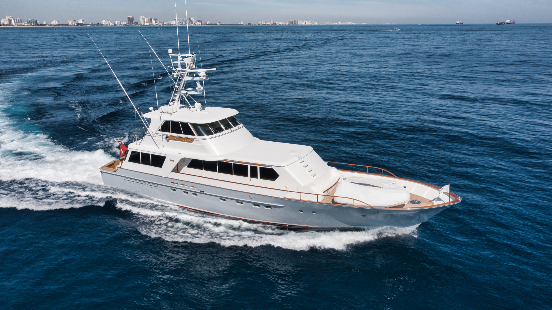 """1977 Feadship 85' Yacht Fisherman """"Impetuous"""""""