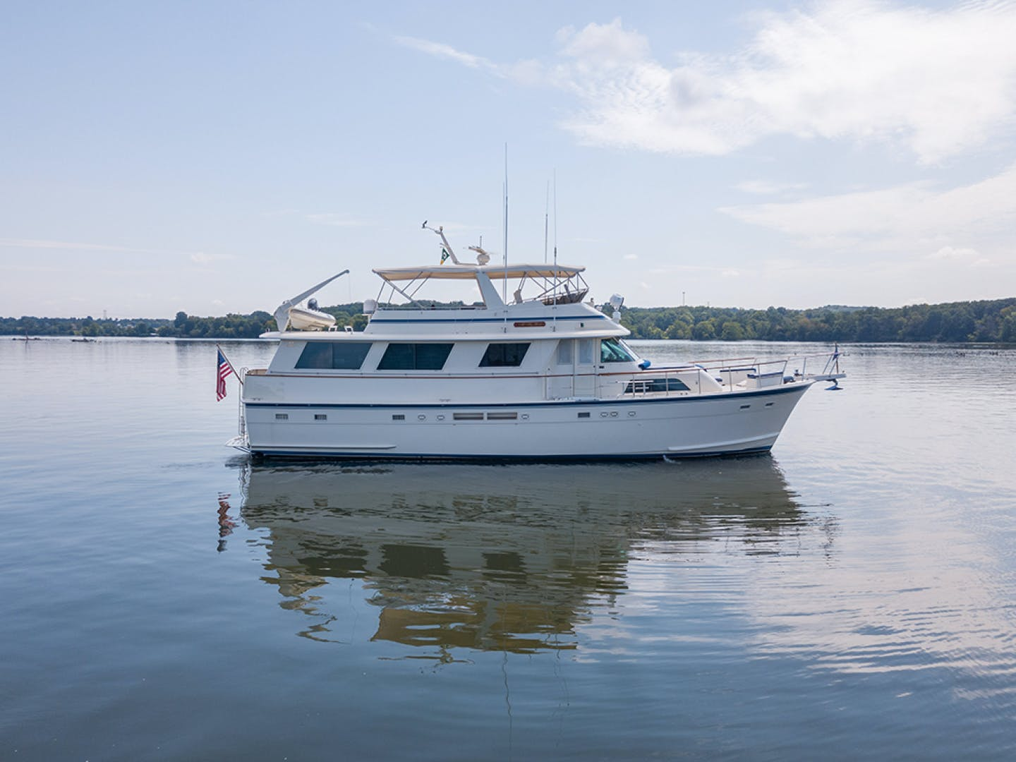 1987 Hatteras 63' 63 Motor Yacht ALL MY GIRLS | Picture 1 of 5