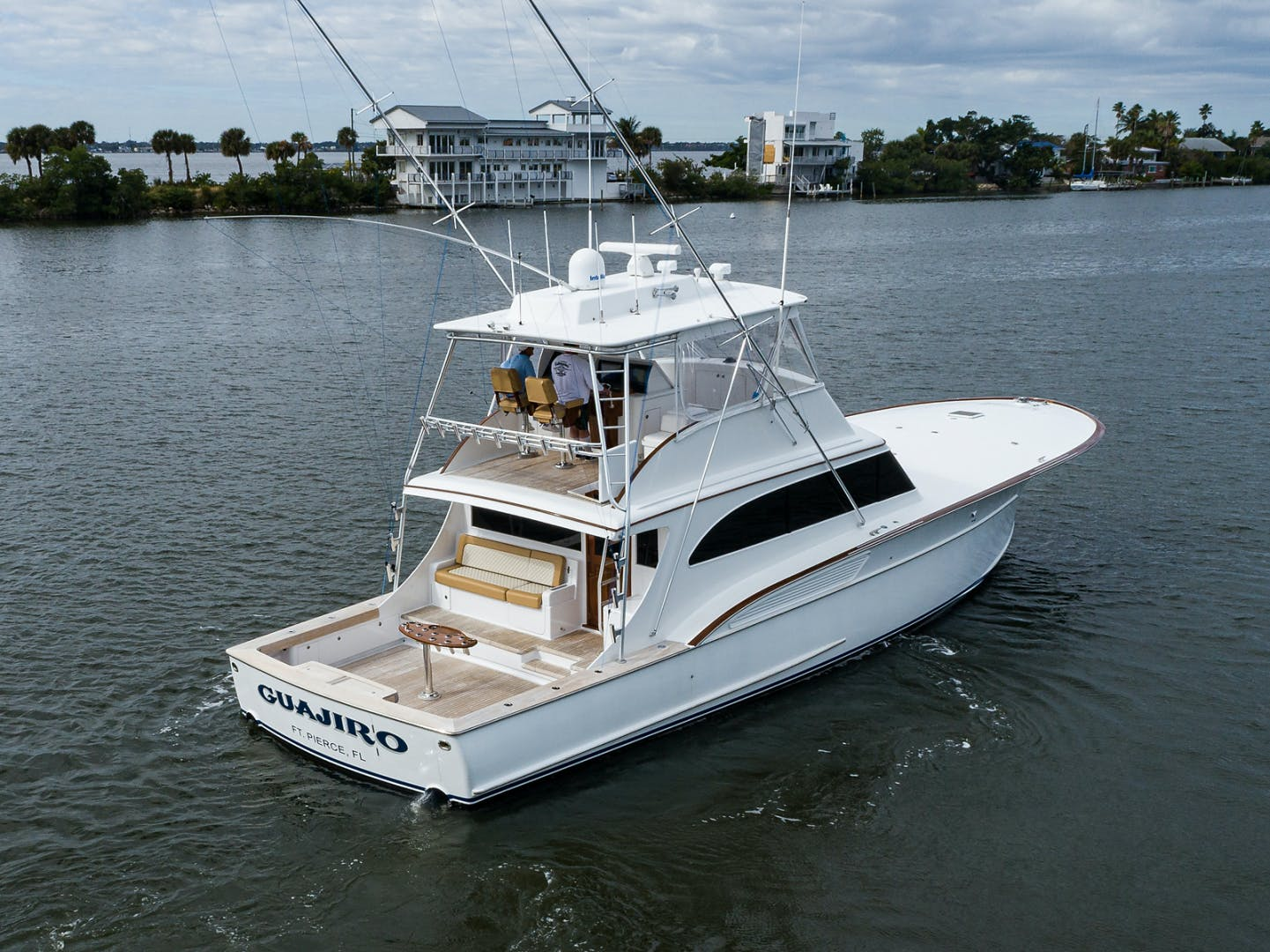 2000 Sunny Briggs 64' Custom Sportfisherman Guajiro | Picture 6 of 58