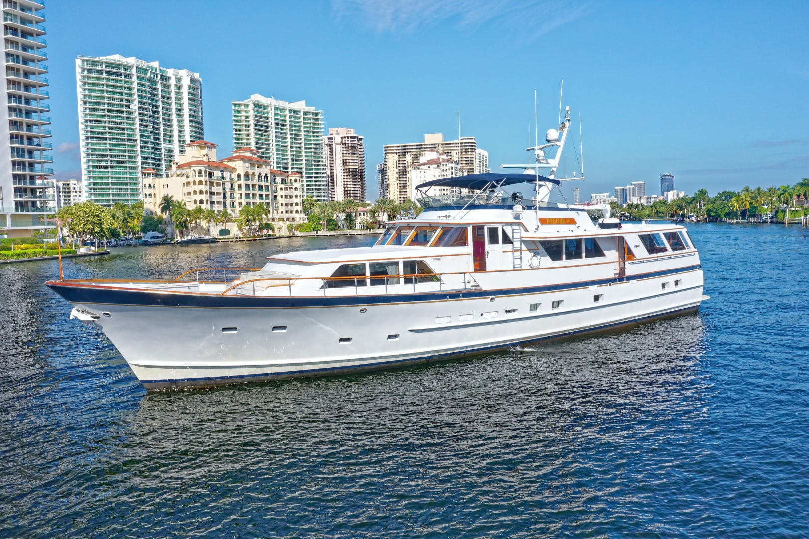 1986 Burger 88' Motor Yacht Encore | Picture 2 of 50