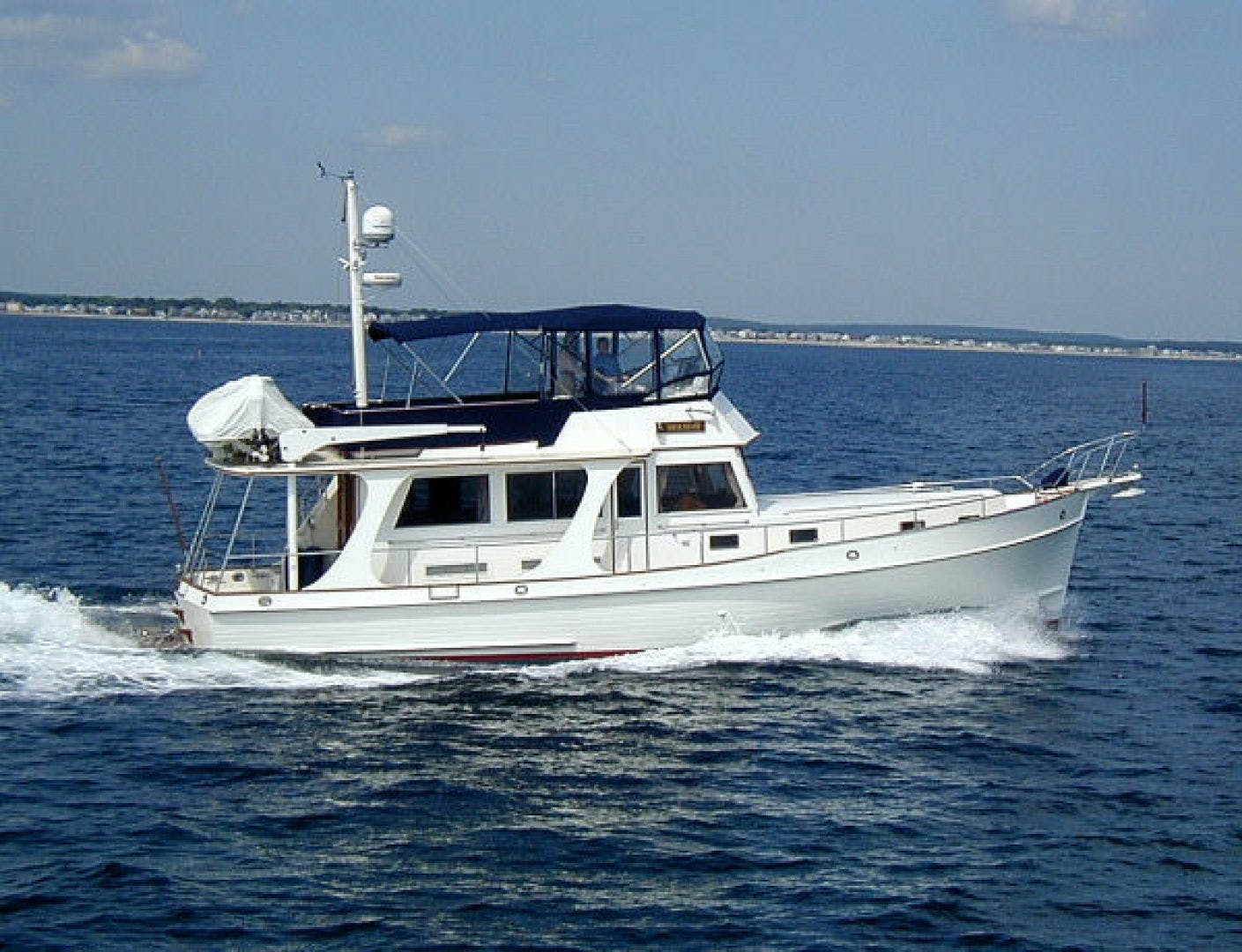 2003 Grand Banks 46' EUROPA  BLUE MOON | Picture 1 of 17