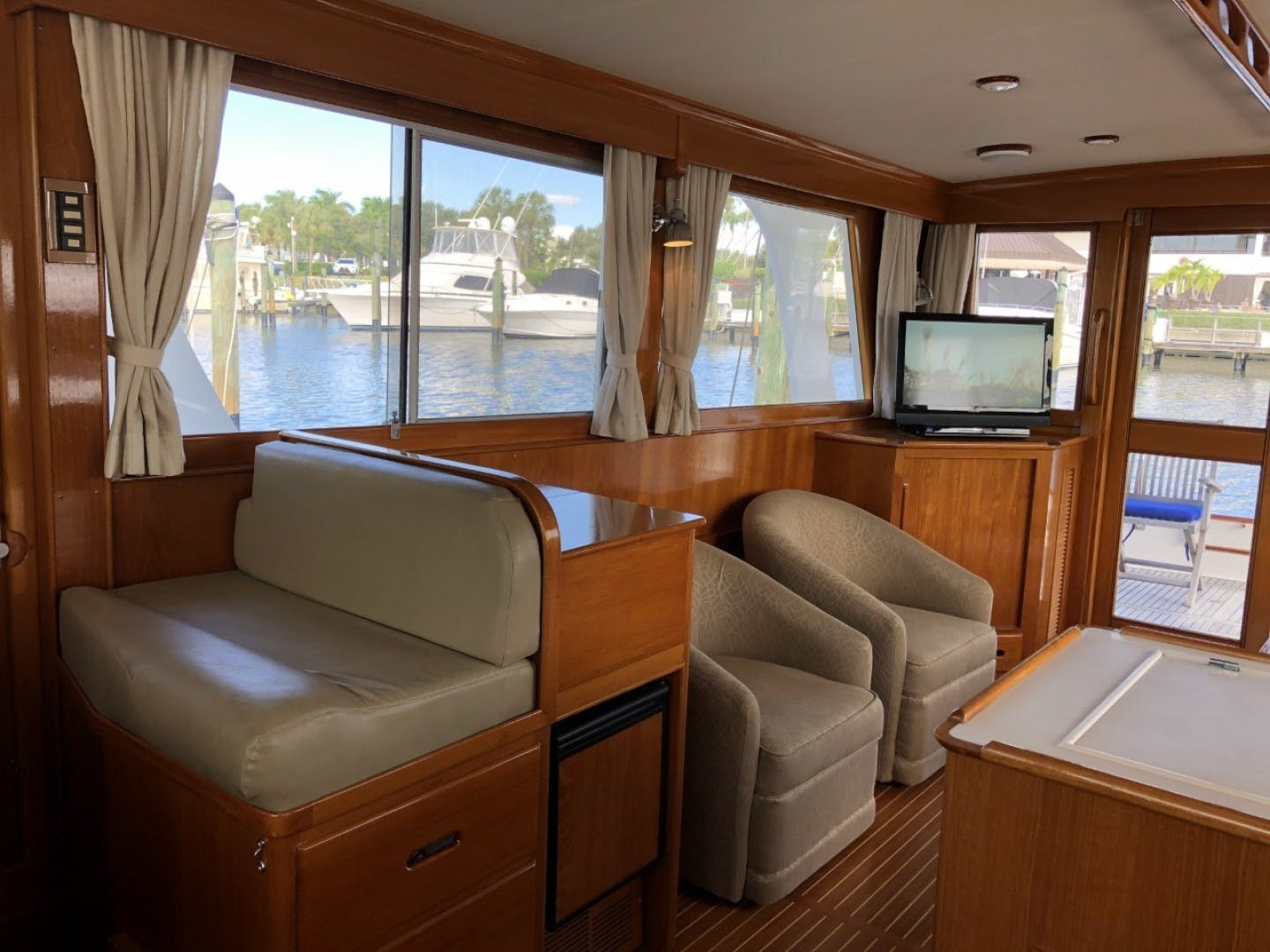2003 Grand Banks 46' EUROPA  BLUE MOON | Picture 2 of 17