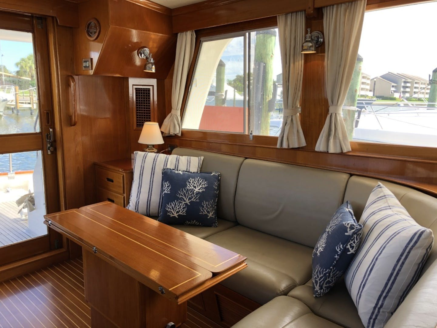 2003 Grand Banks 46' EUROPA  BLUE MOON | Picture 4 of 17