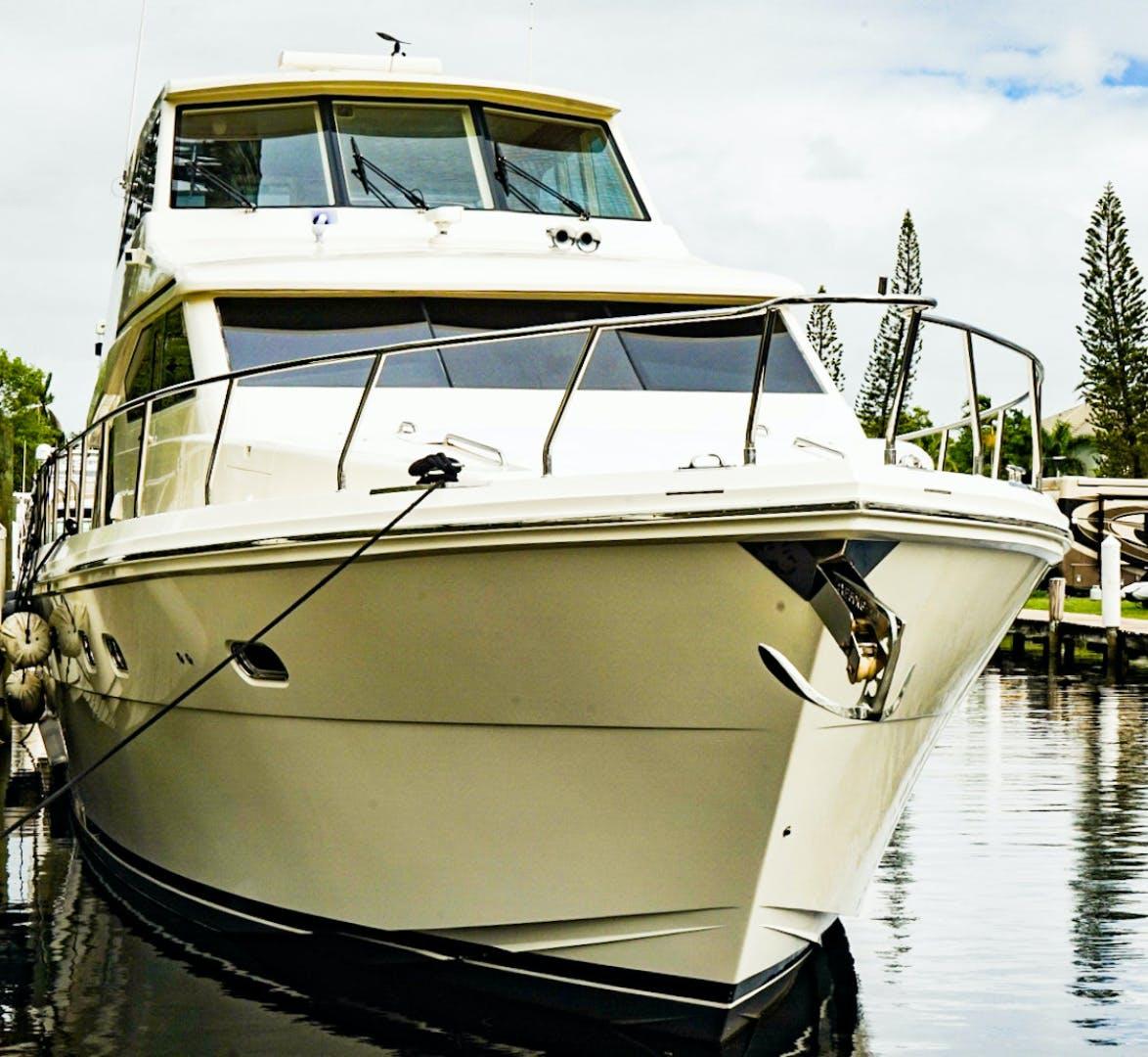 2008 Hampton 63' Skylounge Maverick   Picture 3 of 60