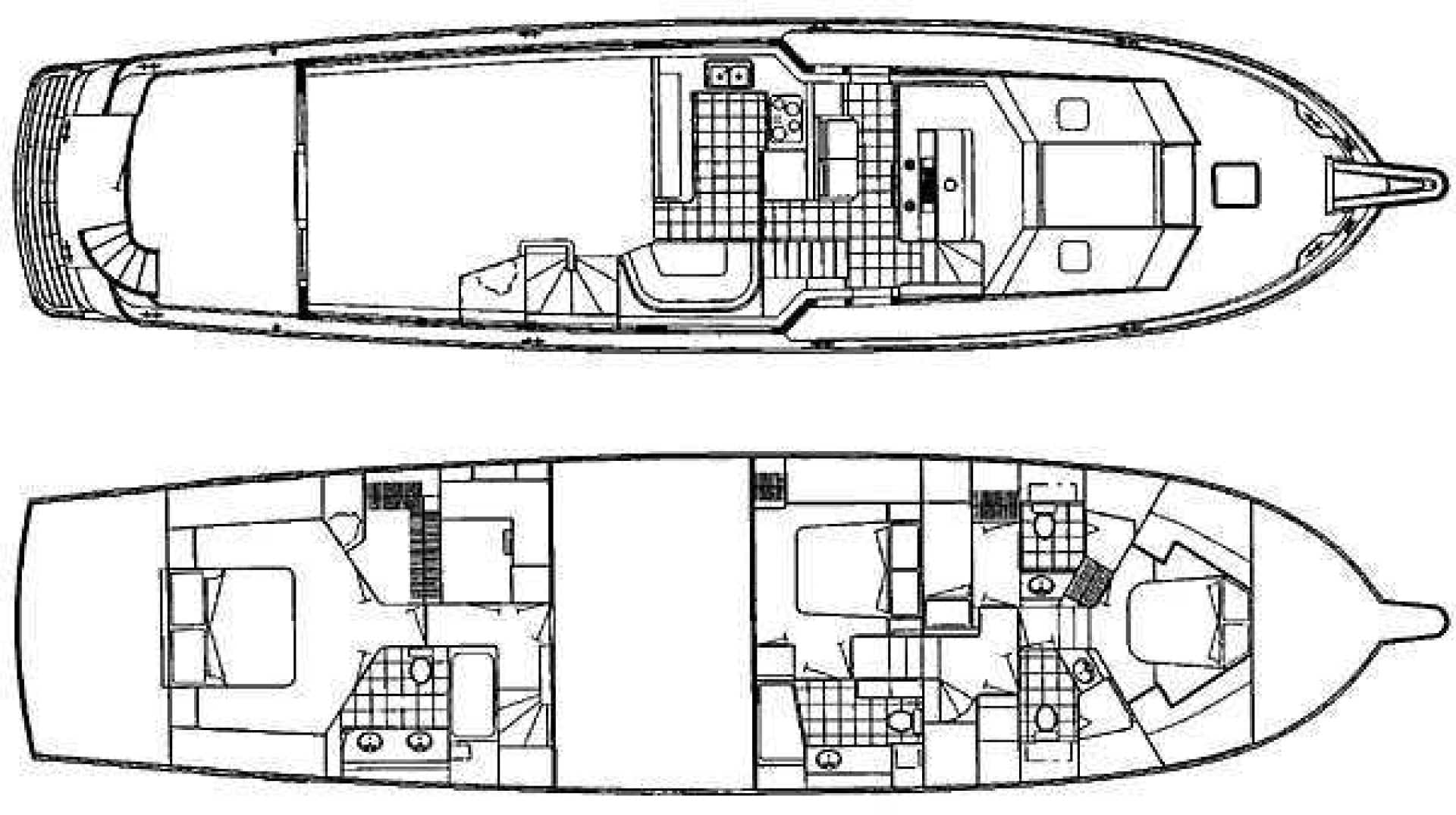 1998 Hatteras 74' Sport Deck Motor Yacht I GOT YOU | Picture 8 of 40