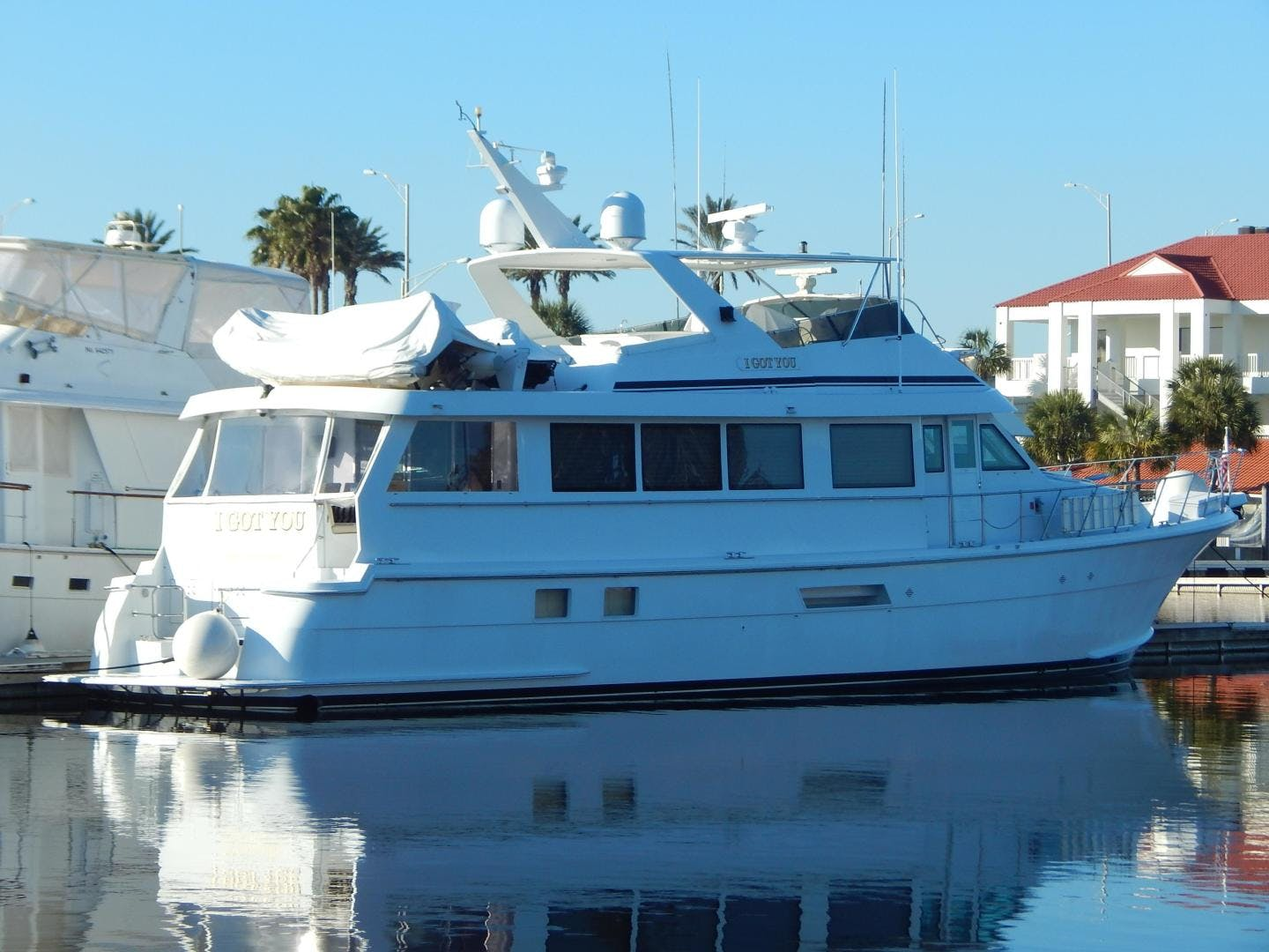 1998 Hatteras 74' Sport Deck Motor Yacht I GOT YOU | Picture 2 of 40