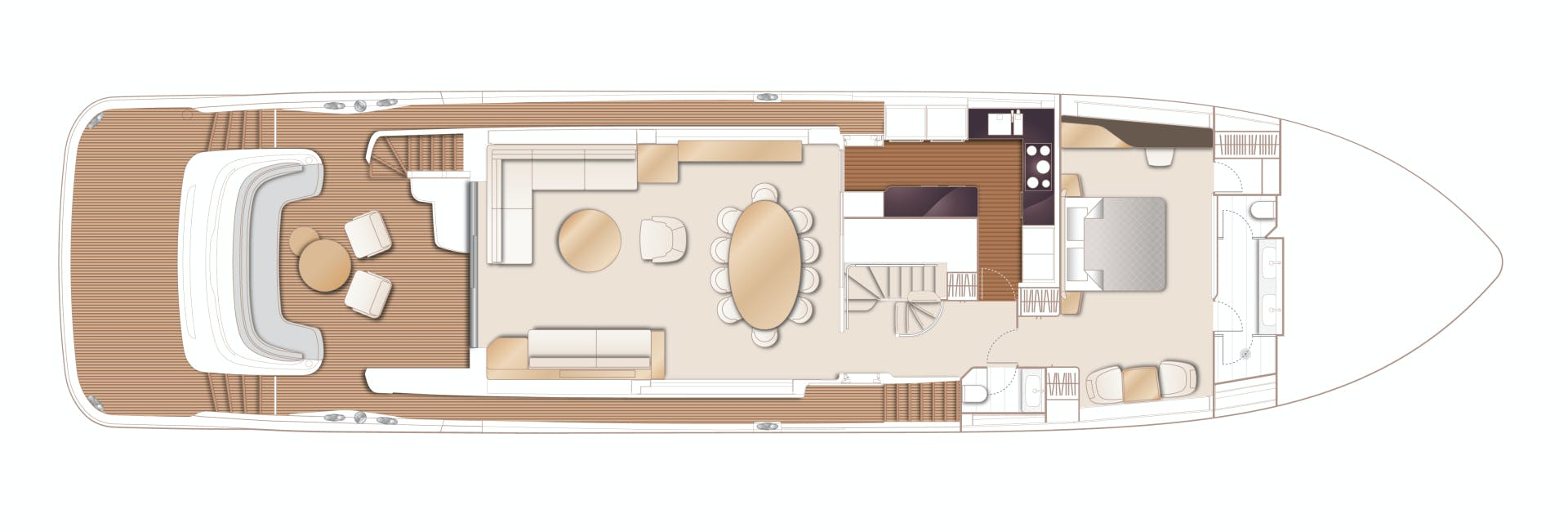 2022 Princess 95' 95 Motor Yacht Y95 | Picture 4 of 21