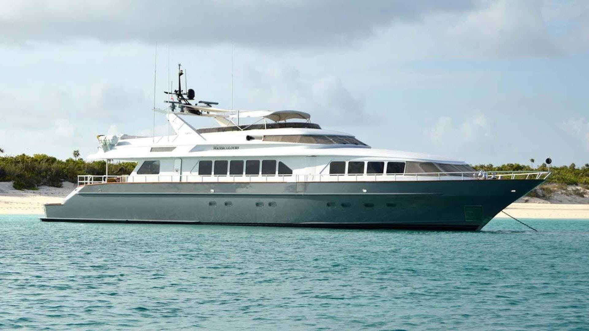 1991 Trinity Yachts 115' Raised Pilothouse  Watercolours   Picture 1 of 75