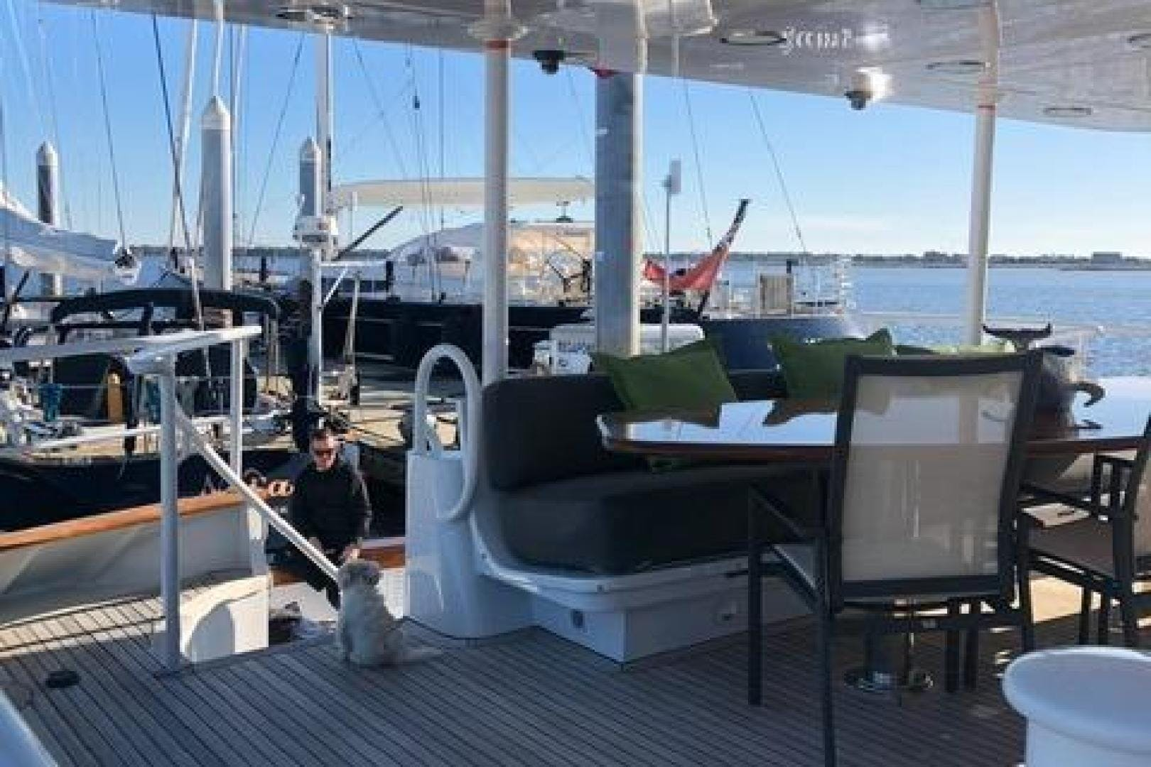 1991 Trinity Yachts 115' Raised Pilothouse  Watercolours   Picture 6 of 75
