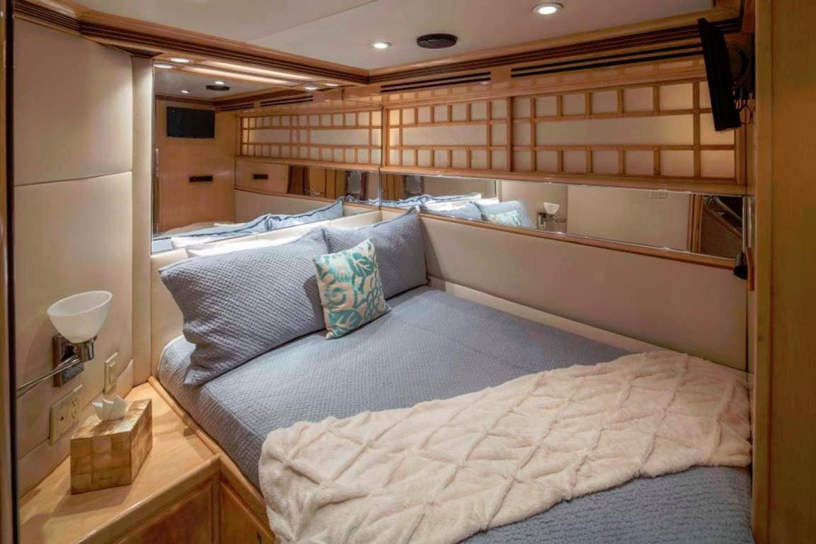 1991 Trinity Yachts 115' Raised Pilothouse  Watercolours   Picture 7 of 75