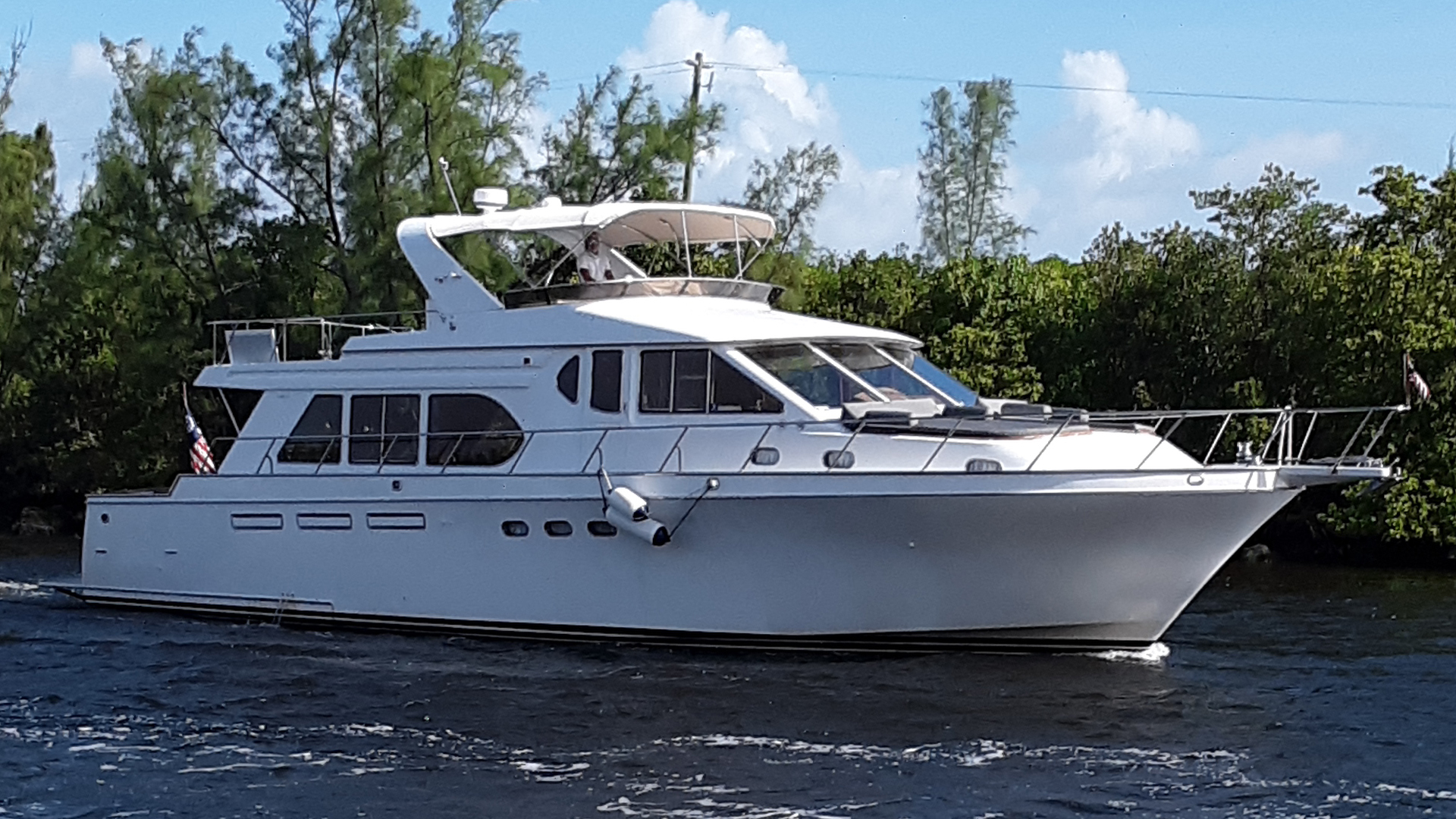 "2000 Ocean Alexander 61' 610 Pilothouse ""Name Reserved"""