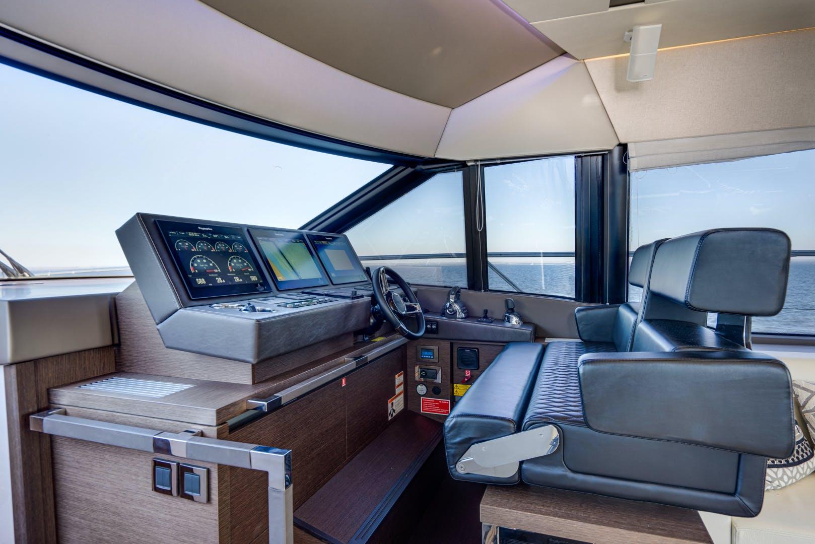 2017 Prestige 63' 630 Flybridge Intrepide DLC | Picture 3 of 66