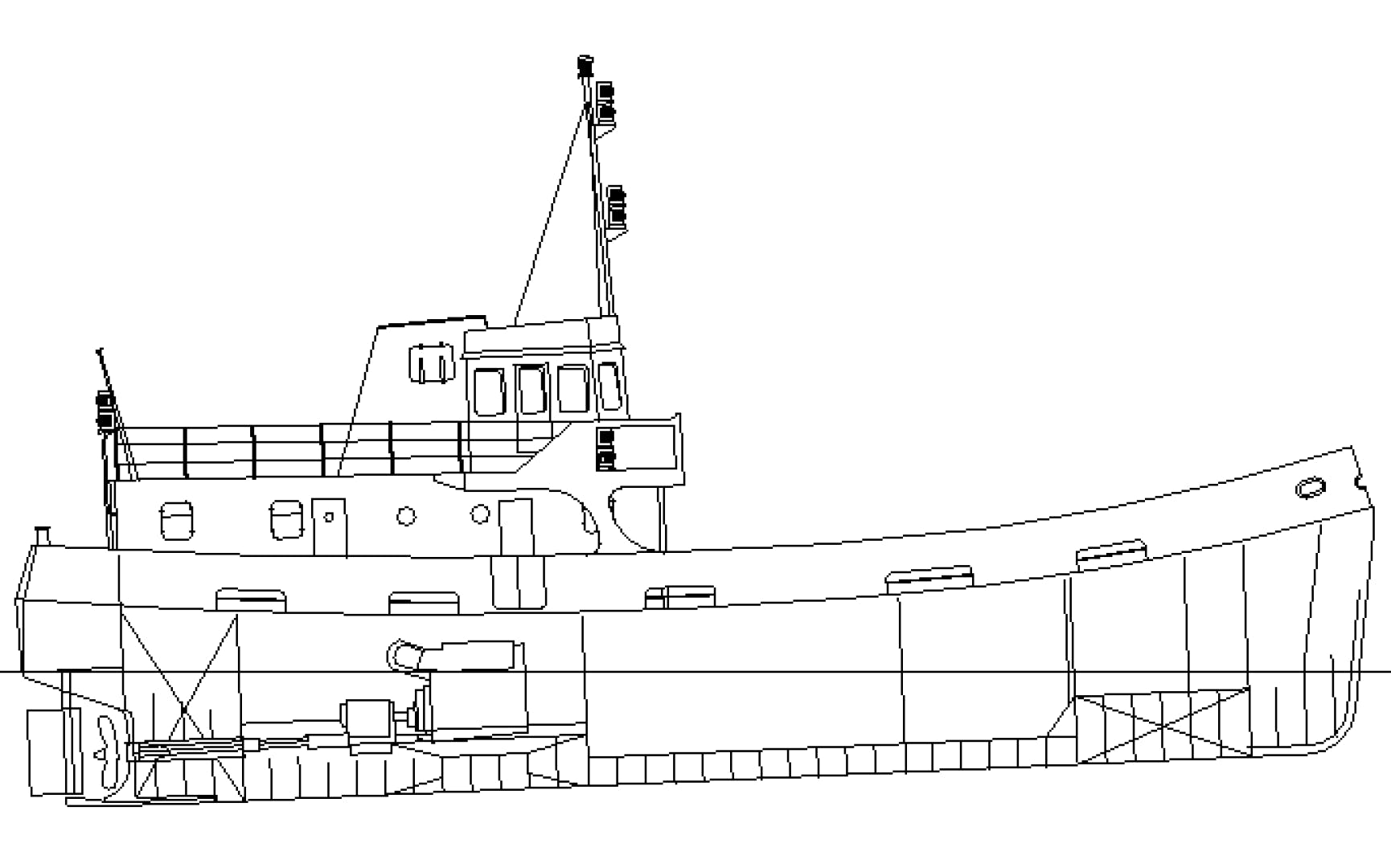 1972 Custom 79' Converted Royal Navy Fleet Tender Fintry | Picture 3 of 30
