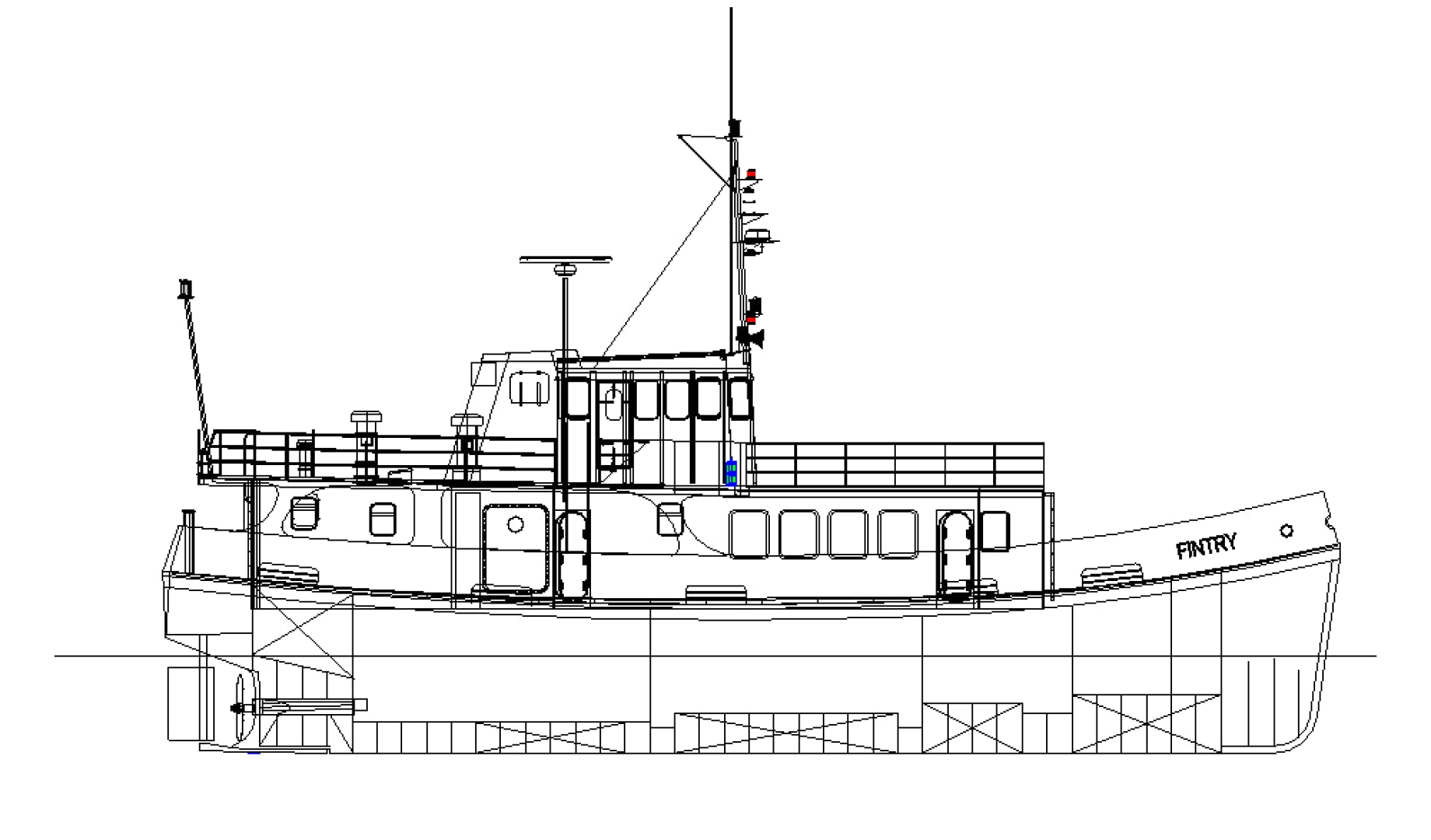 1972 Custom 79' Converted Royal Navy Fleet Tender Fintry | Picture 2 of 30