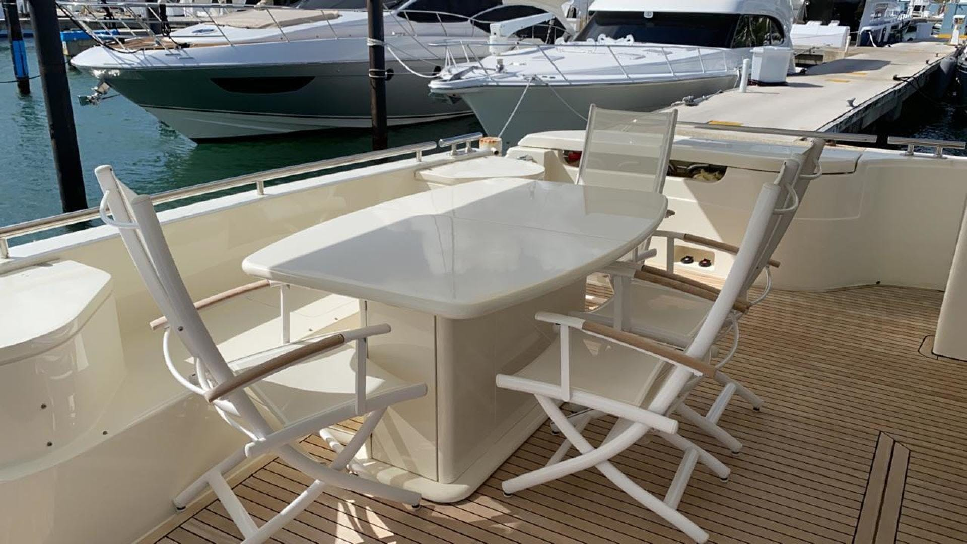 2006 Ferretti Yachts 83' 830    Picture 3 of 109