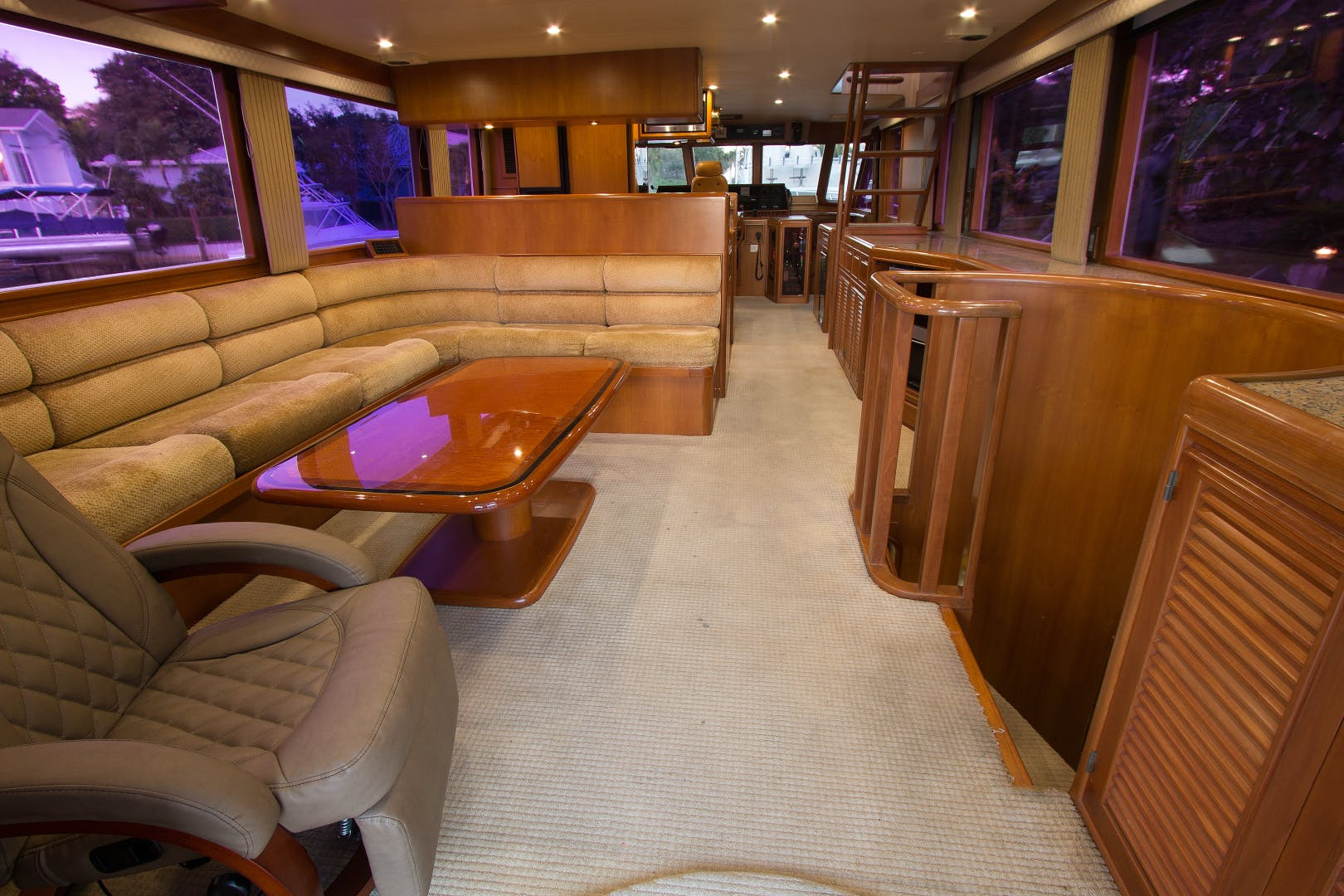 2001 Offshore Yachts 62' Flushdeck Mimi   Picture 7 of 21
