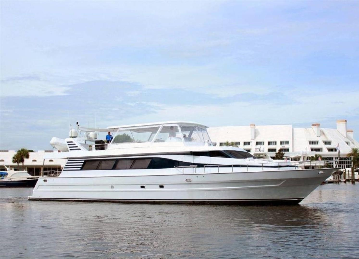 """1998 Tarrab 88' 88 Motor Yacht """"Rehab"""""""