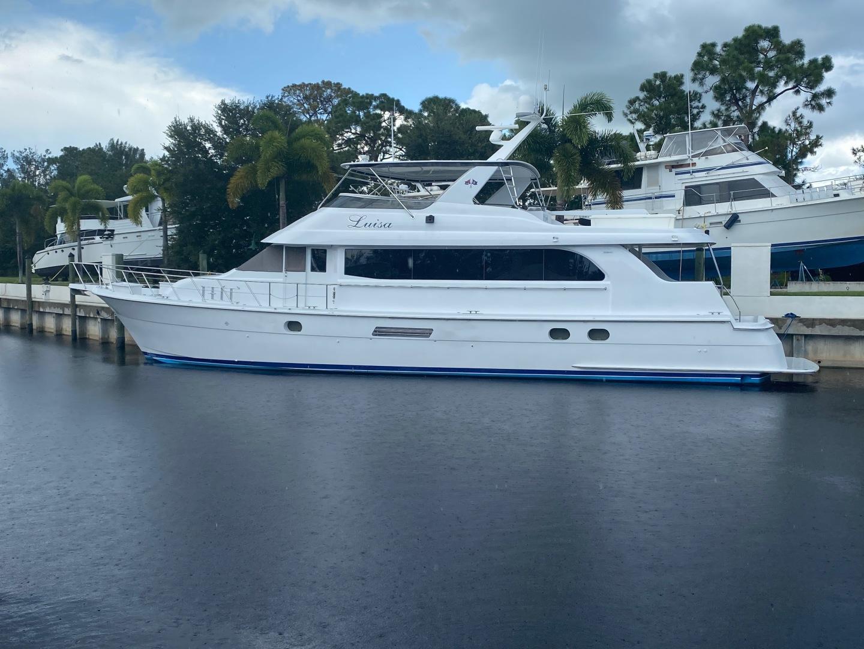 "2002 Hatteras 75' Motor yacht flybridge ""Luisa"""