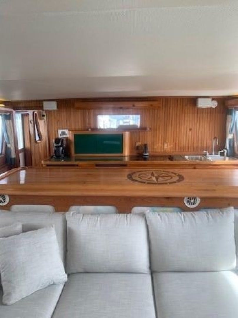 2001 Custom 70' Long Range Steel Trawler Lady C | Picture 8 of 92