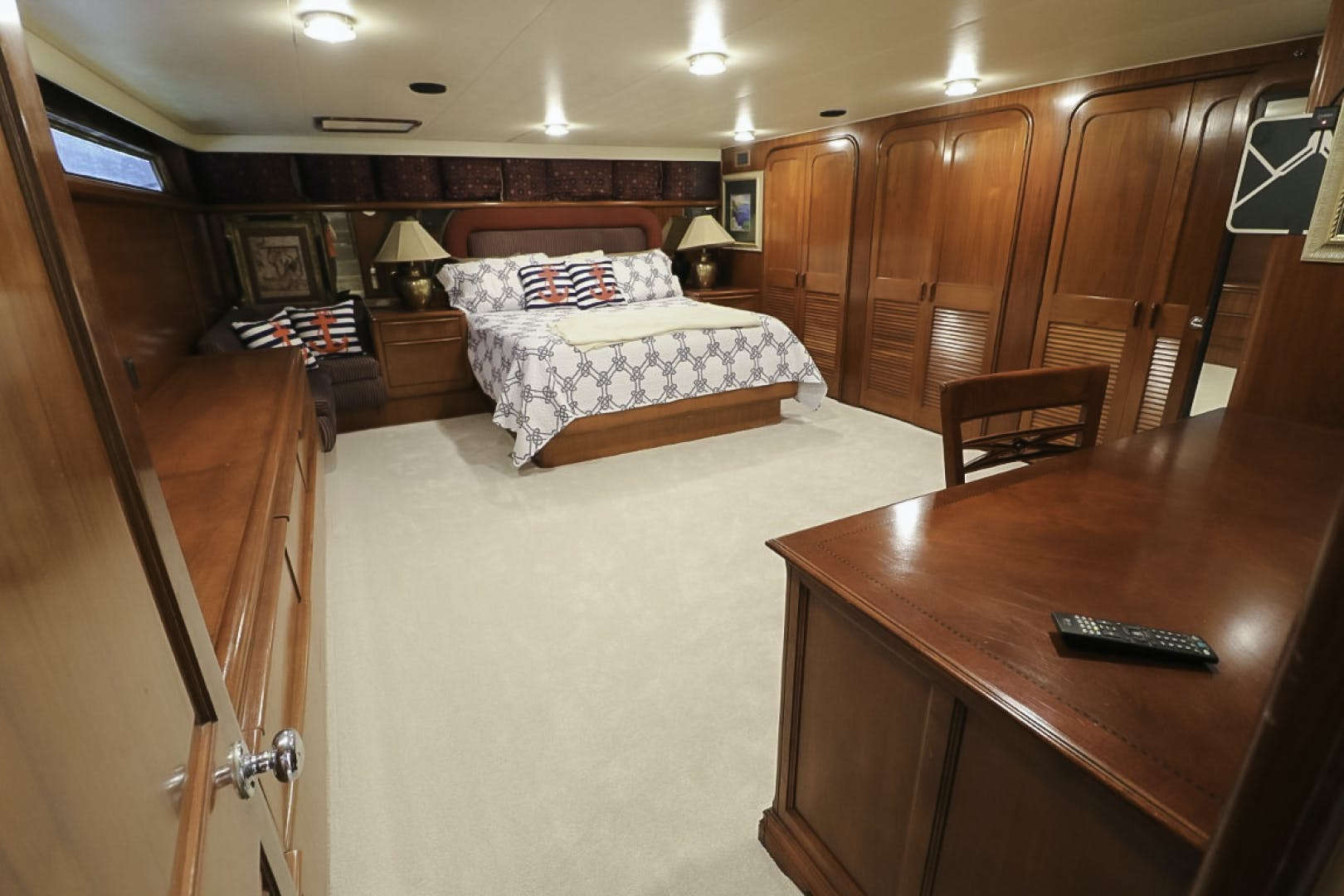1988 Viking 70' 70 Cockpit Motor Yacht  | Picture 4 of 76