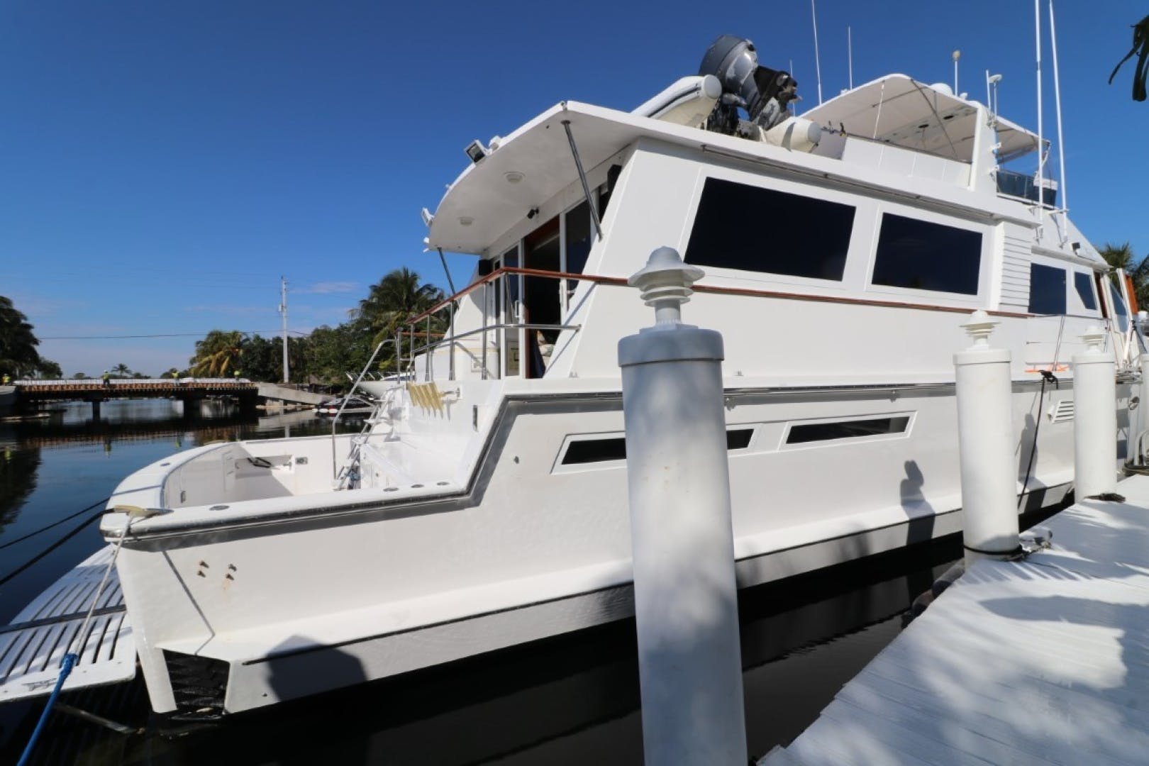 1988 Viking 70' 70 Cockpit Motor Yacht  | Picture 2 of 76