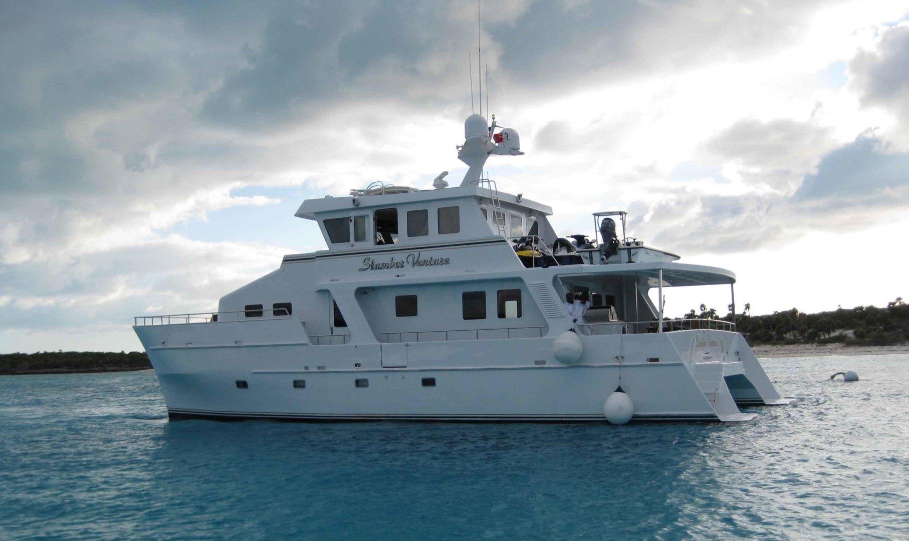 "2000 Theriault & Son 60' Custom Catamaran ""Slumber Venture"""
