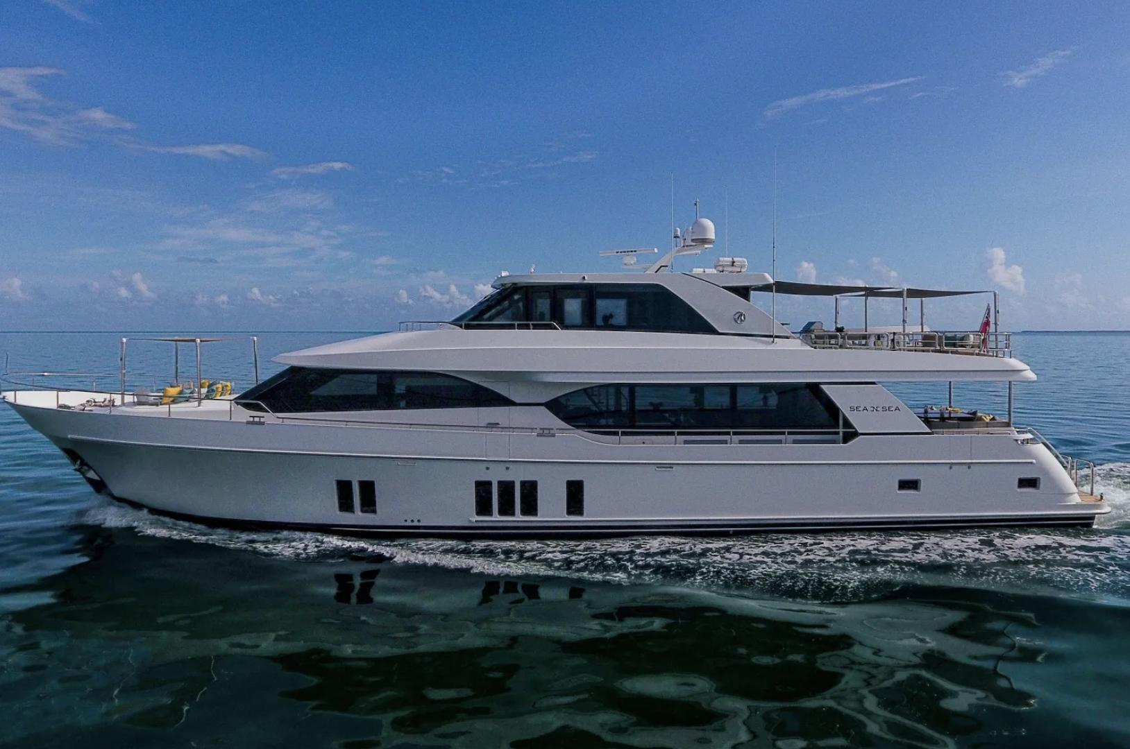 """2016 Ocean Alexander 100' 100 Skylounge """"Sea N Sea"""""""