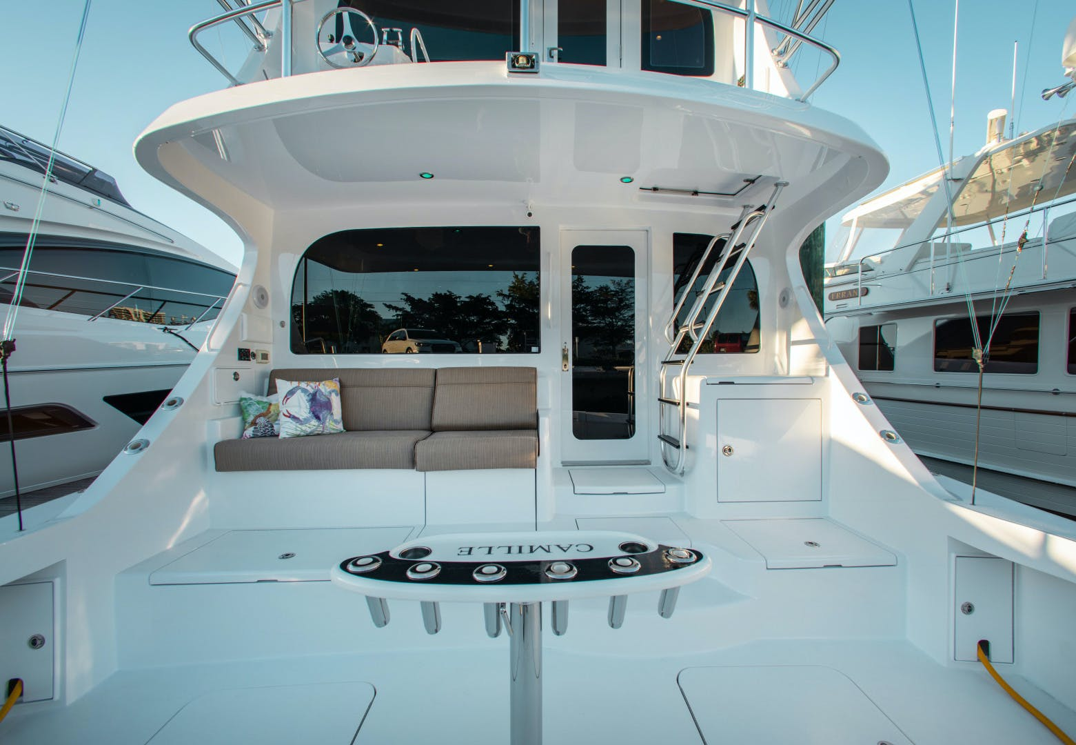 2012 Hatteras 63' 63GT Camille | Picture 1 of 64