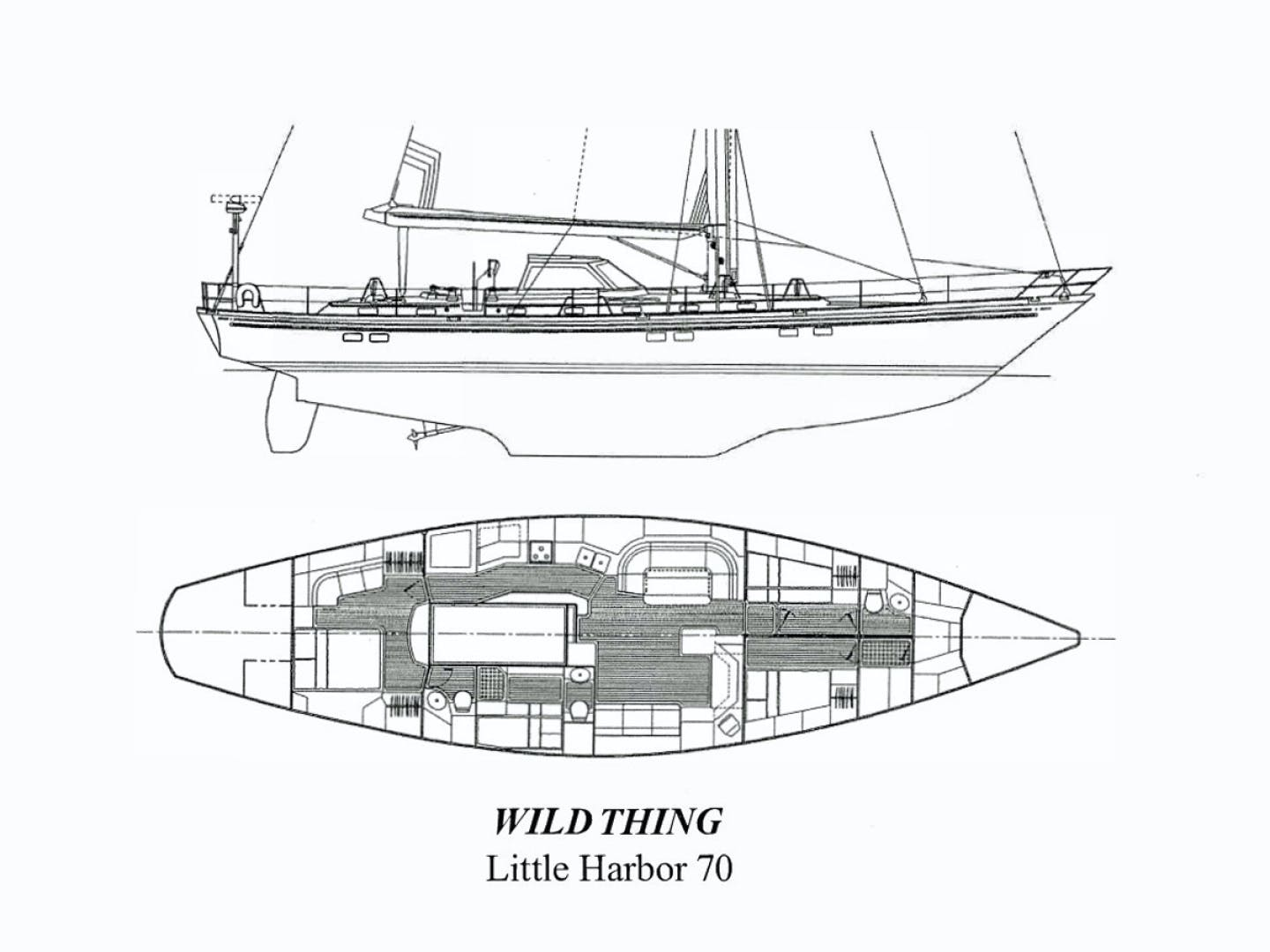 1995 Little Harbor 70' 70 WILD THING | Picture 3 of 27