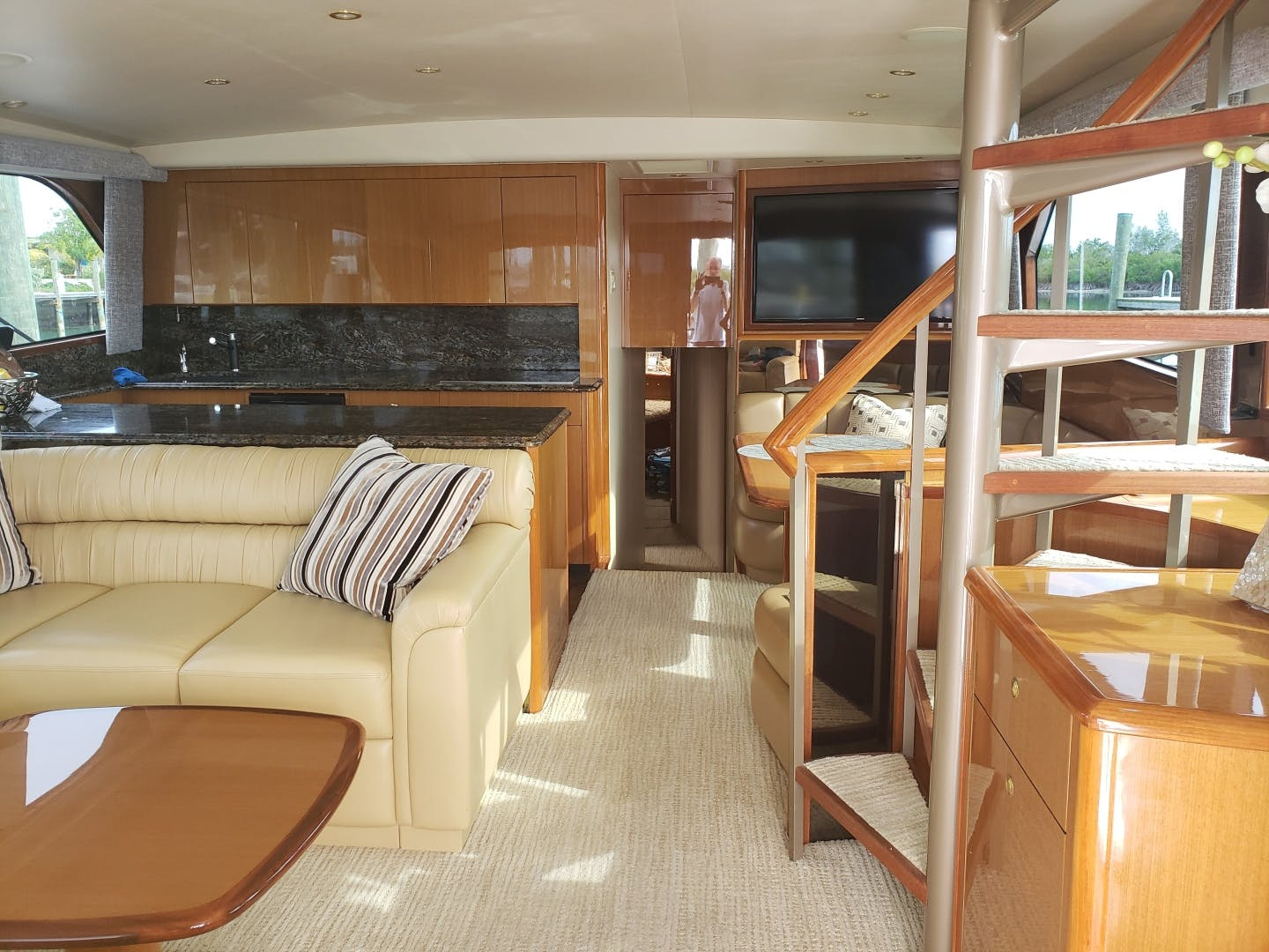 2002 Viking 61' Enclosed Bridge King and I | Picture 2 of 23