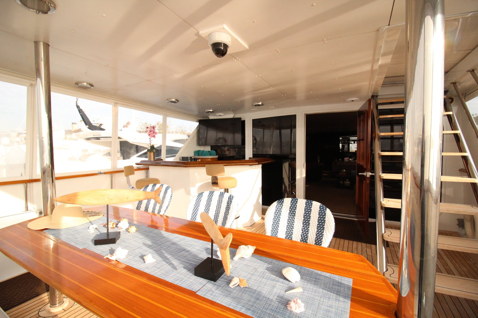 1982 Broward 98' 98 Motor Yacht Reflections  | Picture 2 of 63