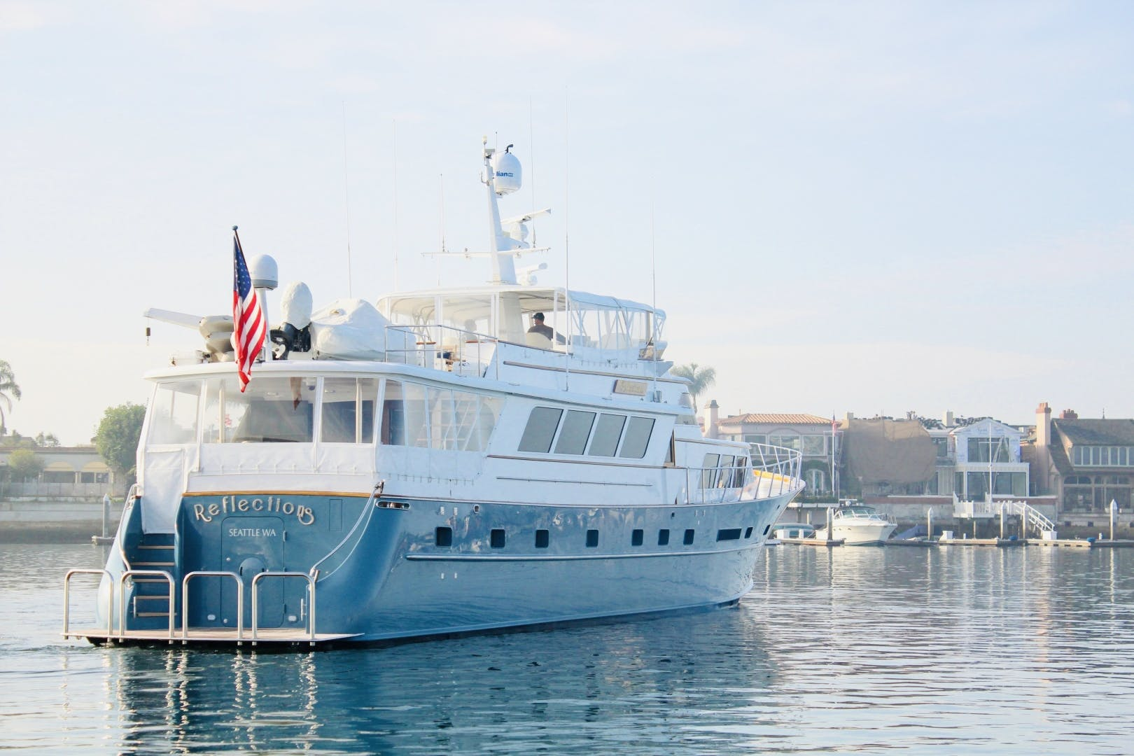 1982 Broward 98' 98 Motor Yacht Reflections  | Picture 7 of 63