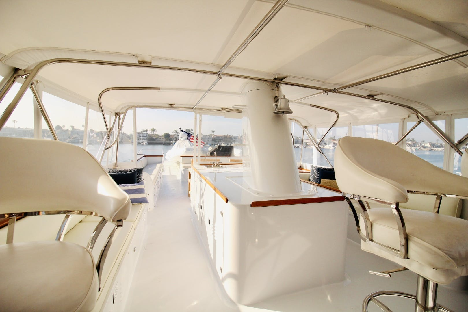 1982 Broward 98' 98 Motor Yacht Reflections  | Picture 1 of 63