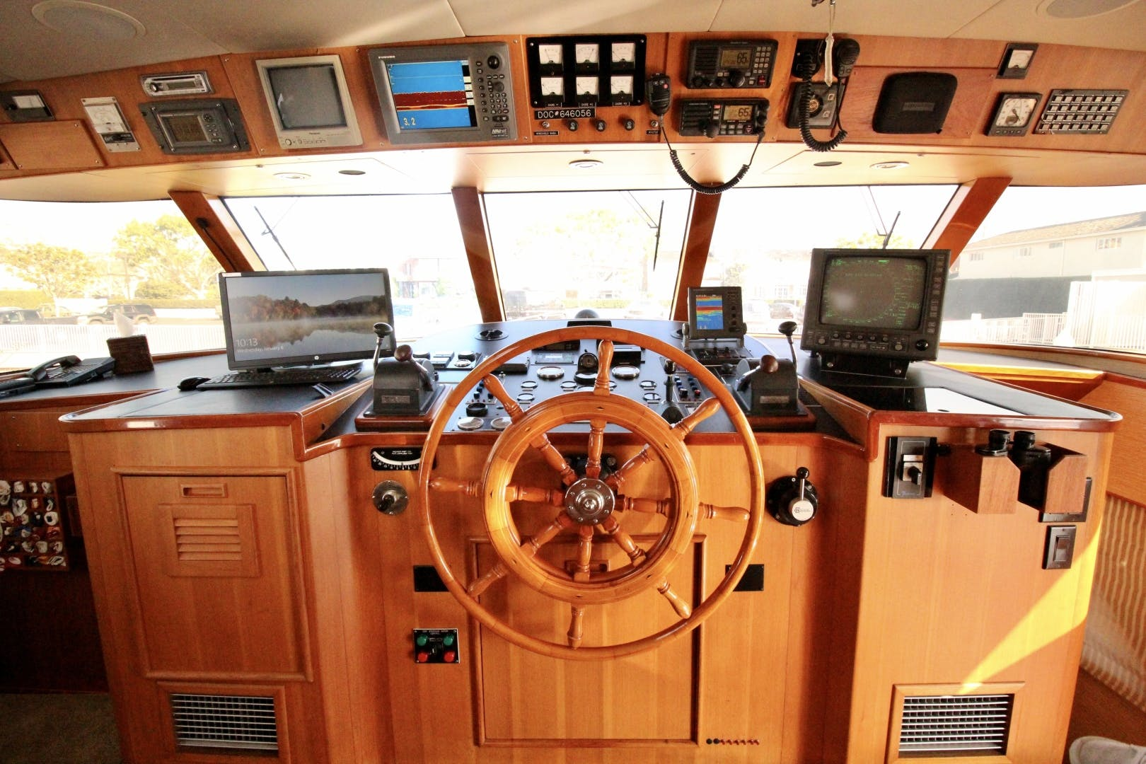 1982 Broward 98' 98 Motor Yacht Reflections  | Picture 6 of 63