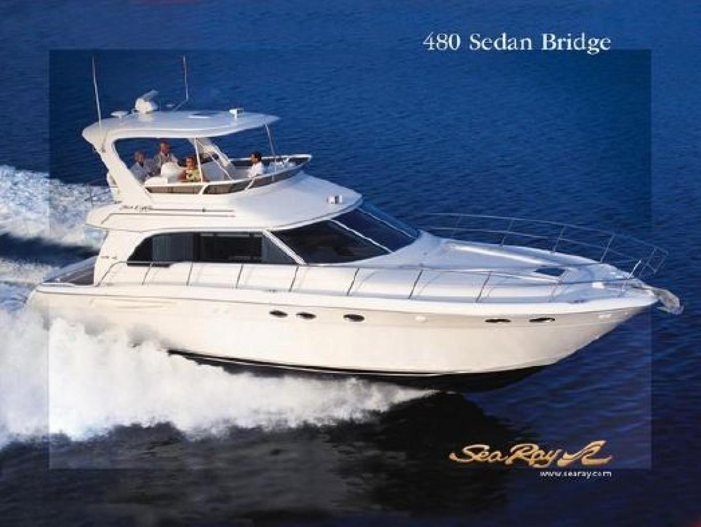 48' Sea Ray 2004 480 Sedan Bridge Jen Ron