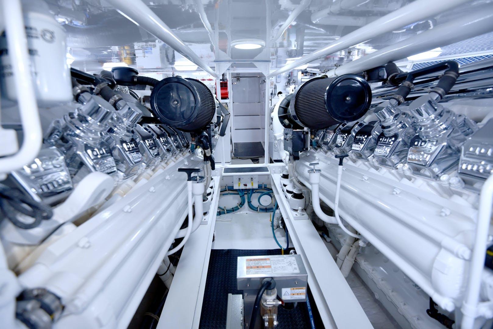 2002 Viking 65' 65 Enclosed Bridge Expedition  | Picture 3 of 26