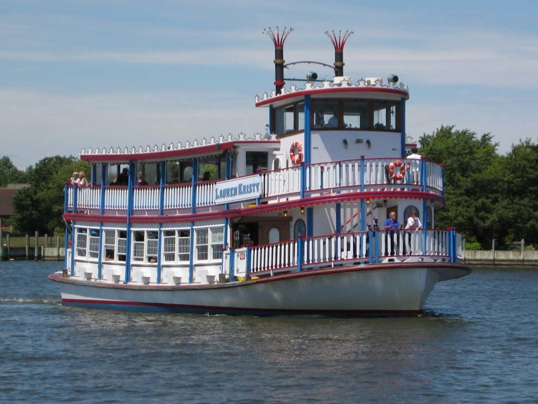 """1987 Custom 65' East Bay Boat Works Paddle Wheeler """"Lauren Kristy"""""""