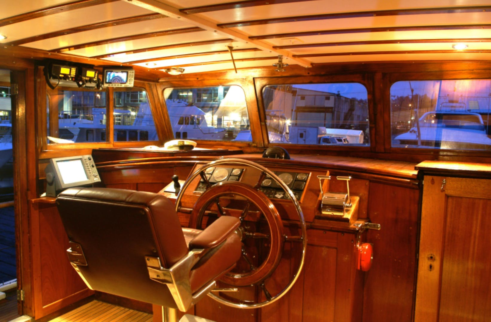 1932 Classic 78' NY Yacht, Launch and Engine  | Picture 8 of 26