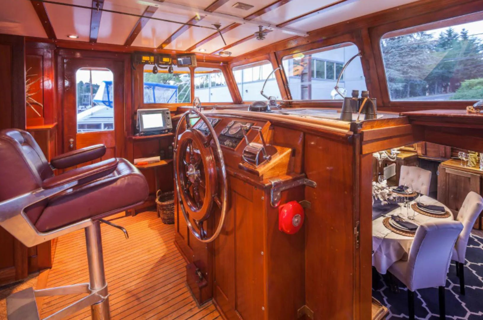 1932 Classic 78' NY Yacht, Launch and Engine  | Picture 7 of 26
