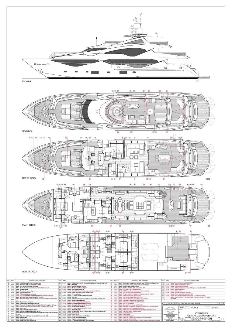 2019 Sunseeker 131' 131 Motor Yacht Exodus   Picture 8 of 24