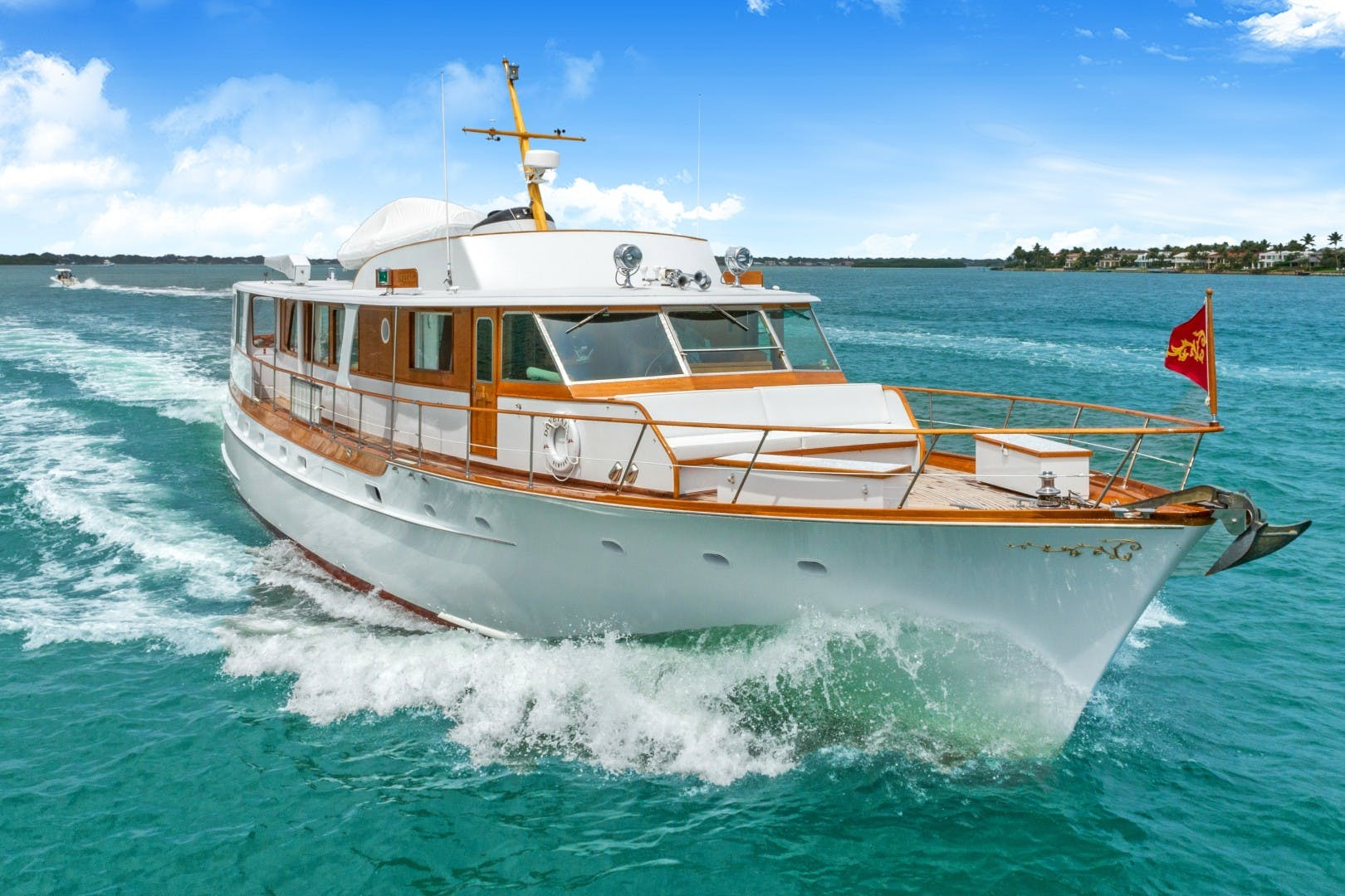 1972 Trumpy 72' Houseboat DOVETAIL | Picture 7 of 31