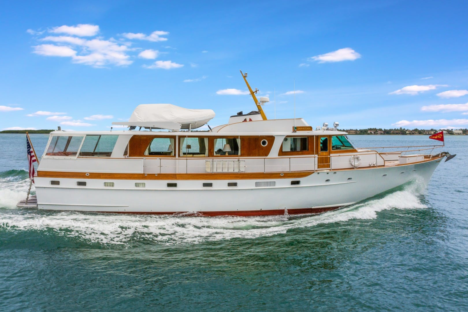 1972 Trumpy 72' Houseboat DOVETAIL | Picture 1 of 31
