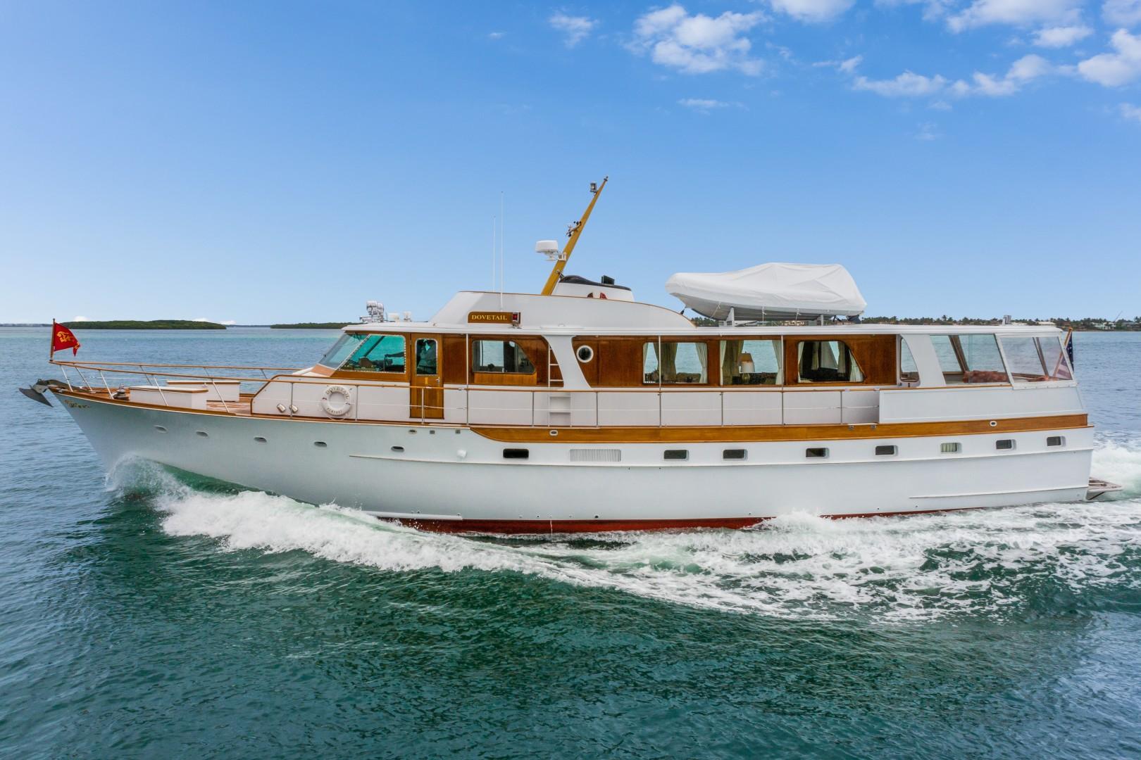 "1972 Trumpy 72' Houseboat ""DOVETAIL"""