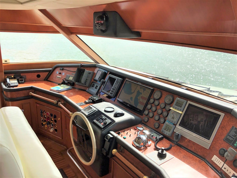 2000 Ferretti Yachts 90' Custom Line Navetta 27 MYEERAH | Picture 6 of 20