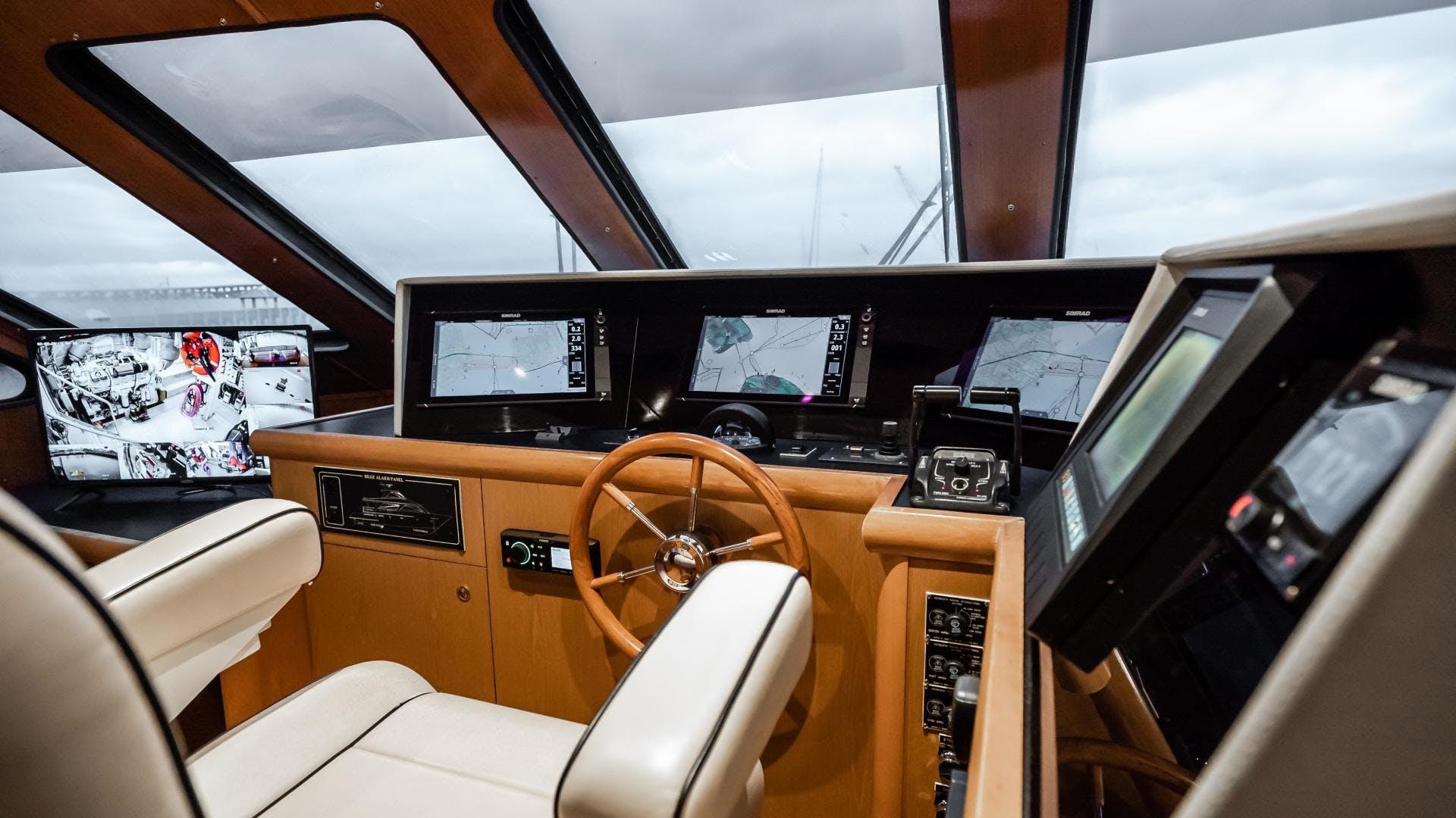 2003 Breaux Brothers 82' Enclosed Bridge Cockpit  Come Monday | Picture 6 of 81