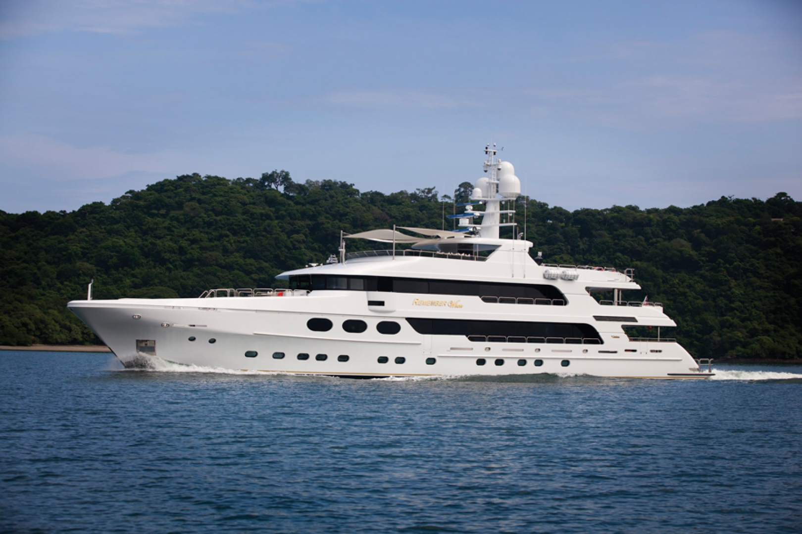 "2011 Christensen 162' Motor Yacht ""Remember When"""