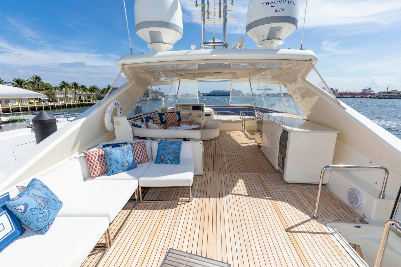 2010 Ferretti Yachts 83' 830HT MI RX   Picture 2 of 46