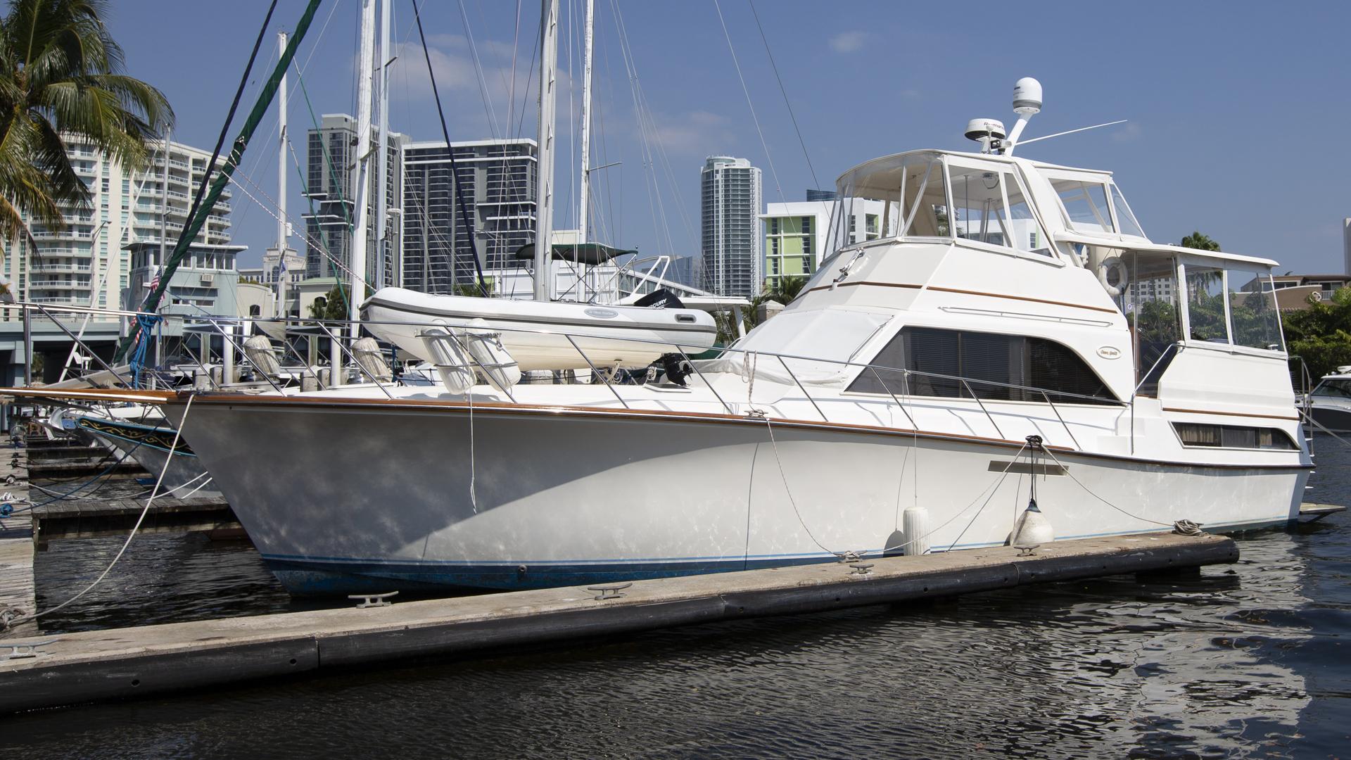 46' Ocean Yachts 1986 46 Sunliner SEA ROSE